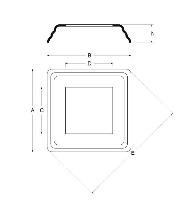 sezione base colonna